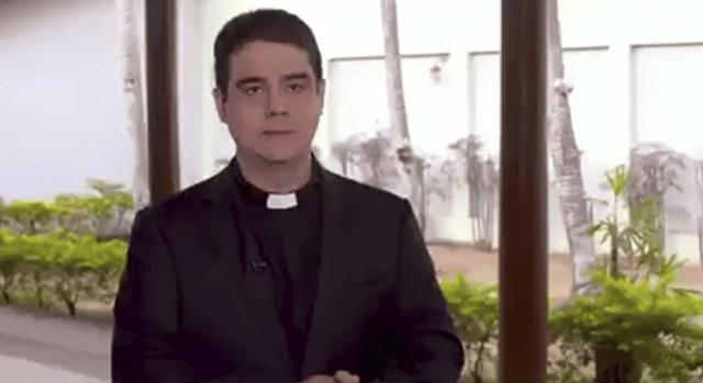 "Padre Robson se defende: ""Sempre carreguei cruzes"""