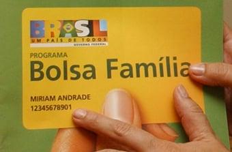 IMAGEM: Governo estuda reformulação do Bolsa Família