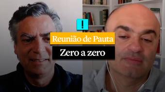 IMAGEM: REUNIÃO DE PAUTA: Zero a zero