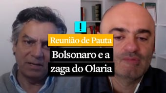 IMAGEM: REUNIÃO DE PAUTA: Bolsonaro e a zaga do Olaria
