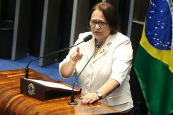 IMAGEM: Governadora do Rio Grande do Norte diz que foco 'é cuidar da saúde da população'