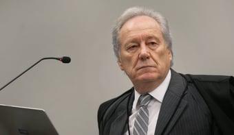 IMAGEM: Lewandowski vota contra julgamento sobre Lula no plenário do STF