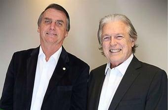 IMAGEM: Bivar desconversa sobre possibilidade de Bolsonaro voltar ao PSL