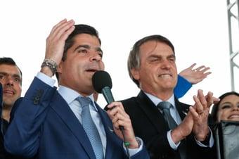IMAGEM: Maia diz que ACM Neto negocia vaga de vice de Bolsonaro