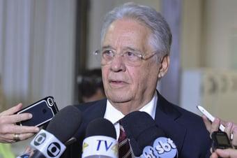 IMAGEM: FHC vota com Covas e defende frente ampla contra Bolsonaro