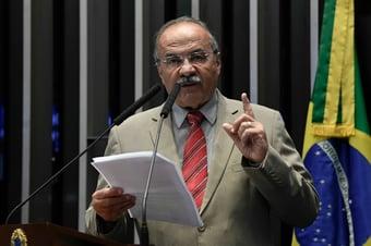 IMAGEM: A íntegra da mensagem de Chico Rodrigues aos senadores
