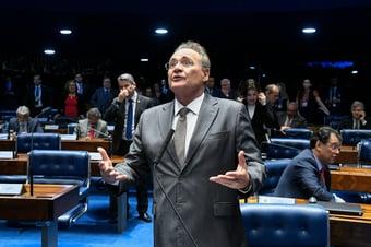 IMAGEM: Renan defende juiz das garantias contra 'outros Sergios Moros'