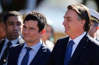 IMAGEM: Moro diz que pediu desculpas a Bolsonaro depois de 'vácuo' em aeroporto