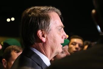 IMAGEM: Bivarista com Bolsonaro