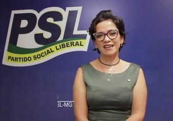 IMAGEM: Deputada bolsonarista diz que não foi notificada