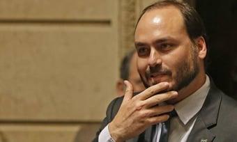 IMAGEM: Carlos altera dados de doação de Bolsonaro na prestação de contas