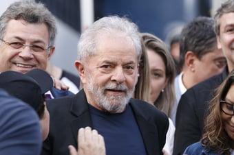 IMAGEM: Lula apresenta novo habeas corpus ao Supremo