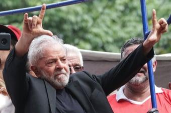 """IMAGEM: """"Judias e judeus com Lula"""""""
