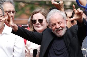 IMAGEM: Hardt diz que não há provas de ilegalidades em palestras de Lula e libera dinheiro