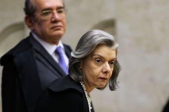 IMAGEM: Cármen Lúcia sinaliza ser contra rever suspeição de Moro no plenário