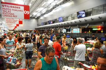 IMAGEM: Brasil tem maior deflação em 22 anos