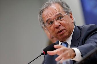IMAGEM: Reforma tributária atrasou por falta de base política, diz Guedes