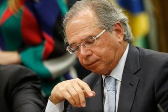 IMAGEM: Guedes diz que 'ministro gastador' corta verba de outros ministérios