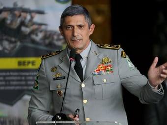 IMAGEM: Diretor da Força Nacional diz que PMs amotinados no Ceará foram 'gigantes'