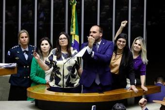 IMAGEM: Conselho de Ética da Câmara vota processos contra seis deputados do PSL