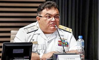 IMAGEM: Almirante bolsonarista tem salário de R$ 20 mil em empresa do BB