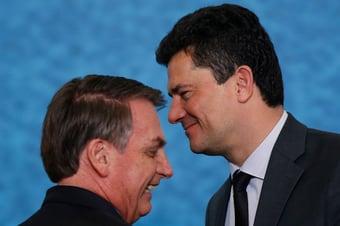 IMAGEM: Bolsonaro X Moro