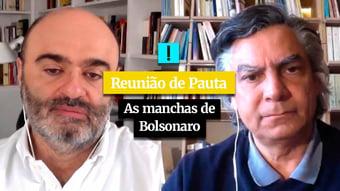 IMAGEM: Reunião de Pauta: as manchas de Bolsonaro