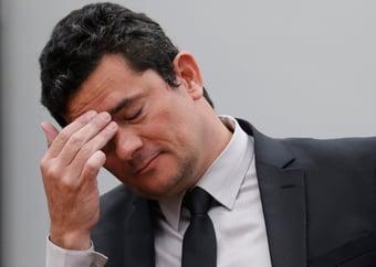 IMAGEM: No WhatsApp contra Sergio Moro
