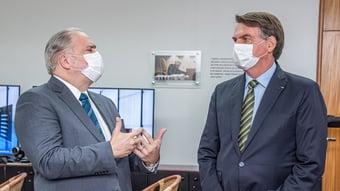 IMAGEM: Aras diz ao STF que Bolsonaro tem direito de não depor