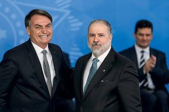 IMAGEM: Aras rejeita pedido de Moro para incluir Abin no inquérito sobre Bolsonaro