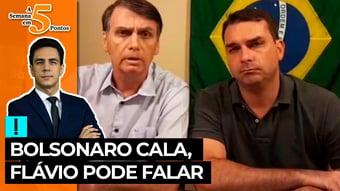 IMAGEM: A Semana em 5 Pontos: Bolsonaro cala, Flávio pode falar
