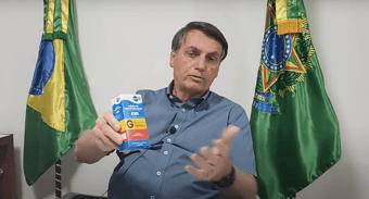 IMAGEM: CGU dispensa Bolsonaro de mostrar receita para hidroxicloroquina