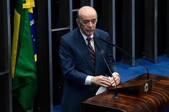 """IMAGEM: """"Foi uma pena, uma imensa pena"""", diz Serra sobre morte de Bruno Covas"""