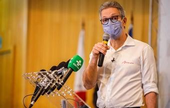 IMAGEM: Zema usou em agendas políticas jatinho destinado à segurança pública