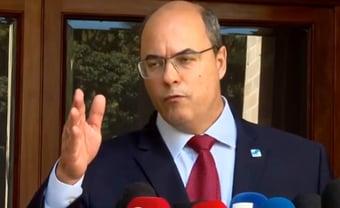 IMAGEM: Witzel recebe intimação no processo de impeachment