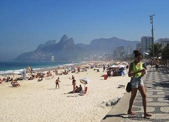 IMAGEM: Prefeitura do Rio mantém veto no acesso às praias aos finais de semana