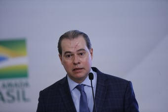 IMAGEM: Sorteio de novo relator para inquérito de Bolsonaro 'preserva' STF, diz Toffoli