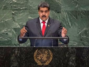 IMAGEM: O samba de Maduro na cara do Brasil