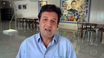 """IMAGEM: Mandetta: """"Bolsonaro perde no primeiro turno, perde no segundo"""""""