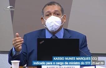 """IMAGEM: Alcolumbre diz que Kassio """"tem todas as condições"""" para assumir no STF"""