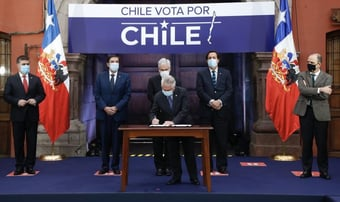 IMAGEM: Chilenos sob ditadura de Maduro temem uma 'Chilezuela'