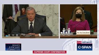 IMAGEM: Senado dos EUA começa sabatina de indicada de Trump à Suprema Corte