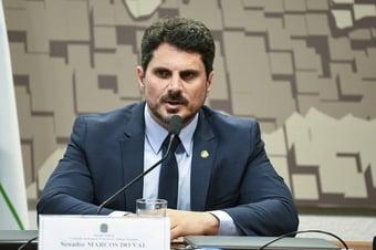 IMAGEM: Com Alcolumbre ausente, Marcos do Val representa Brasil em fórum do BRICS