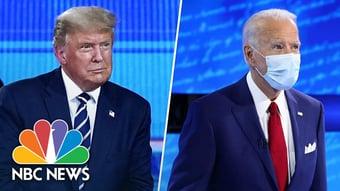 IMAGEM: Audiência de evento com Biden é maior que a de Trump