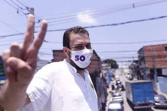 IMAGEM: Boulos suspende atividade de rua após líder do PSOL testar positivo para Covid