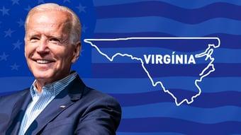 IMAGEM: Biden vence na Virgínia