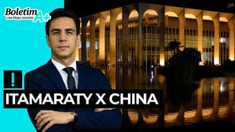 IMAGEM: Boletim A+: Itamaraty x China