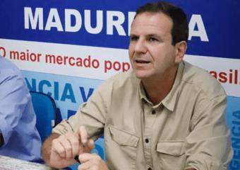 IMAGEM: Paes pode apoiar Freixo ou Santa Cruz ao governo do Rio