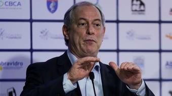 """IMAGEM: Ciro Gomes: """"Minha tarefa é derrotar o PT no primeiro turno"""""""