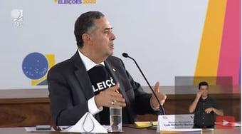 IMAGEM: Barroso sobre Bolsonaro: 'não costumo reclamar da demora dos outros Poderes'